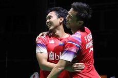 Kejuaraan Beregu Asia 2020, Debut Manis Ahsan/Fajar Langsung Juara
