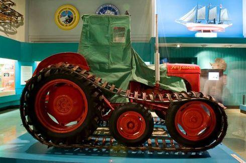Ferguson TE20, Traktor Pertama di Dunia yang Jelajahi Kutub Selatan