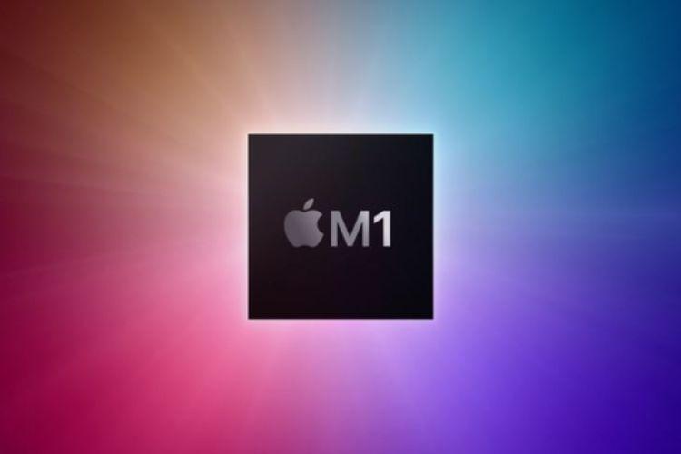 Ilustrasi Apple M1.