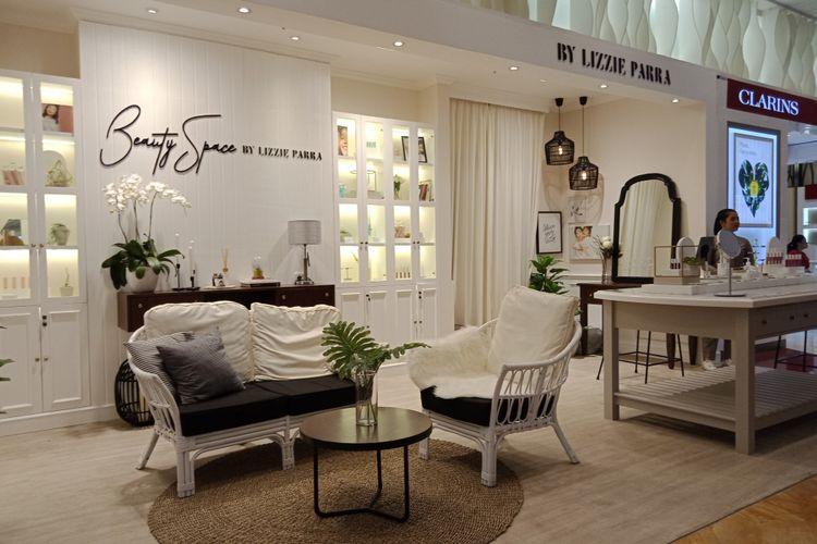 Beauty space By Lizzie Parra (BLP) di Lotte Shopping Avenur yang sudah mulai dibuka.