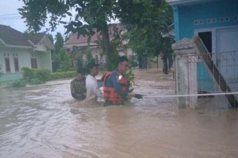 Sungai Cilamaya Meluap, 12 Desa di Cilamaya Wetan Terendam Banjir