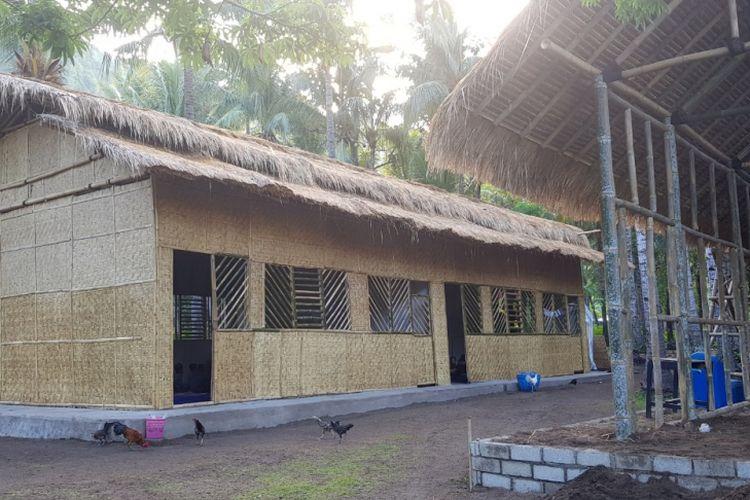 Ilustasi. Sekolah Bambu SDN 2 Lombok Utara
