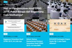 [POPULER TREN] Pengumuman Hasil CPNS 2019 | Daftar Lengkap Link Hasil Akhir CPNS 2019 di Kementerian dan Lembaga