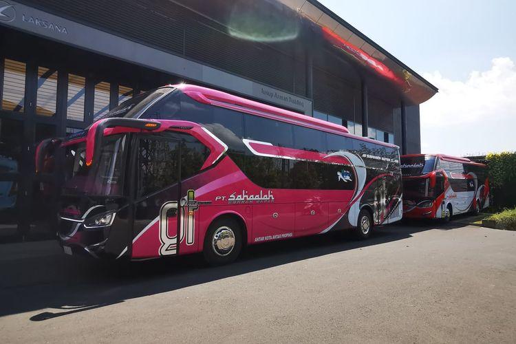 Bus AKAP baru PO Sahaalah