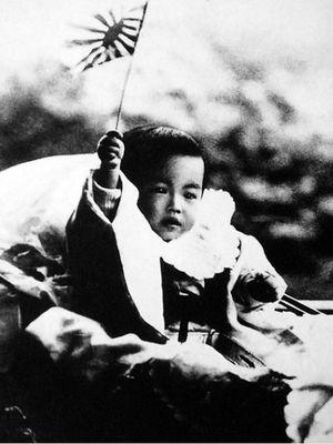 Kaisar Hirohito saat masih bayi pada 1902. (Public Domain via Wikipedia)