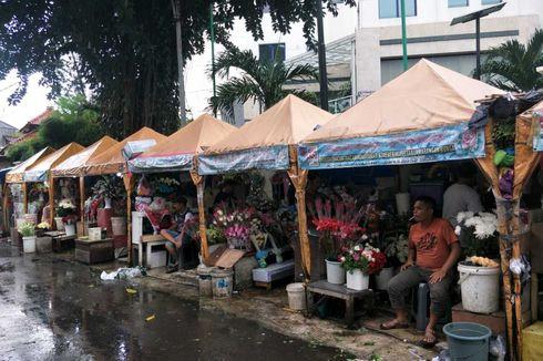 Hari Valentine, Pendapatan Pedagang di Pasar Kembang Cikini Meningkat Dua Kali Lipat