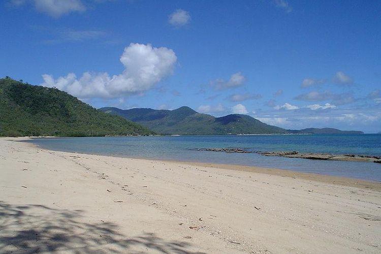 Pantai di Palm Island, Queensland, Australia.