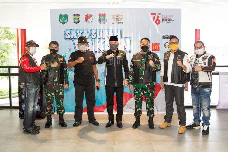 HDCI Chapter Tangerang, mengadakan acara vaksinasi Covid-19