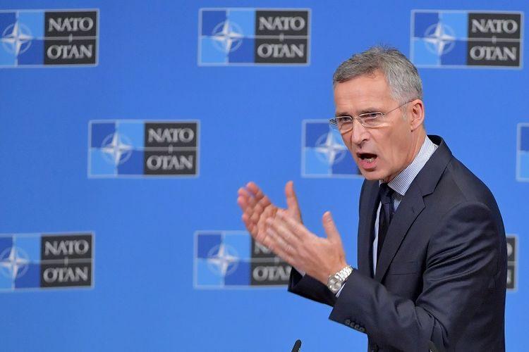 Sekretaris Jenderal NATO Jens Stoltenberg.