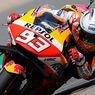 Hasil FP1 MotoGP Inggris, Marc Marquez Tercepat Lalu Terjatuh