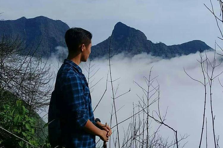 Serakan awan Gunung Gulgulan
