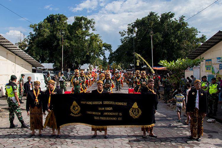 Kirab Peringatan Kenaikan Tahta Raja Surakarta, Pakubuwana XIII (01/04/2019).