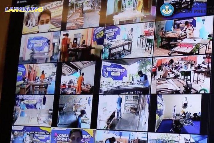 Lomba Kompetensi Siswa SMK ke-28 yang digelar Kementerian Pendidikan dan Kebudayaan (Kemendikbud) melalui Pusat Prestasi Nasional (Puspresnas)secara daring pada 18-23 Oktober 2020.