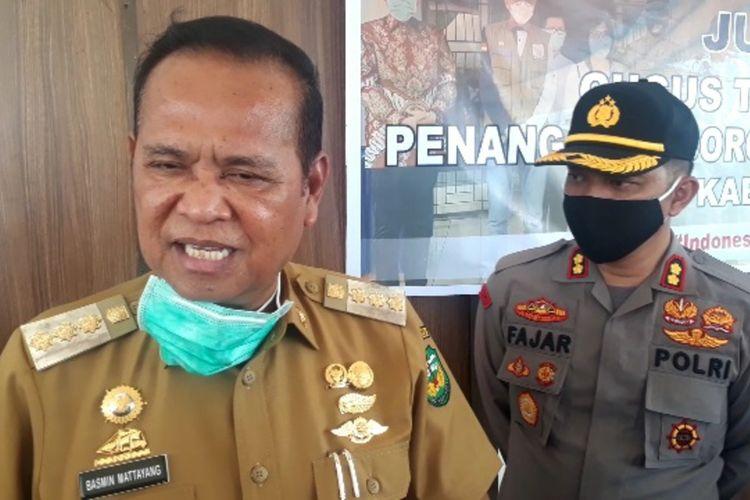 Bupati Luwu Basmin Mattayang beserta tim Gugus tugas penanganan Covid-19 Luwu menegaskan bahwa tidak ada salat Idul Fitri dilaksanakan di Masjid apalagi di lapangan, Senin (18/05/2020)