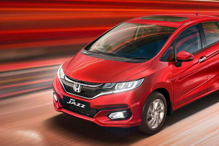 Honda Jazz facelift di India punya sunroof