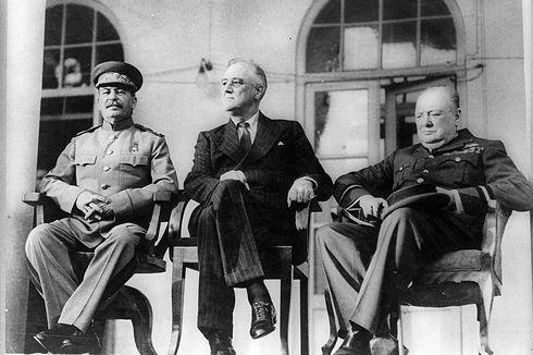 [Cerita Dunia] Konferensi Teheran, Cikal Bakal Sekutu dalam Perang Dunia II