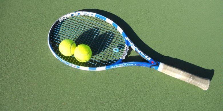 Ilustrasi tenis.