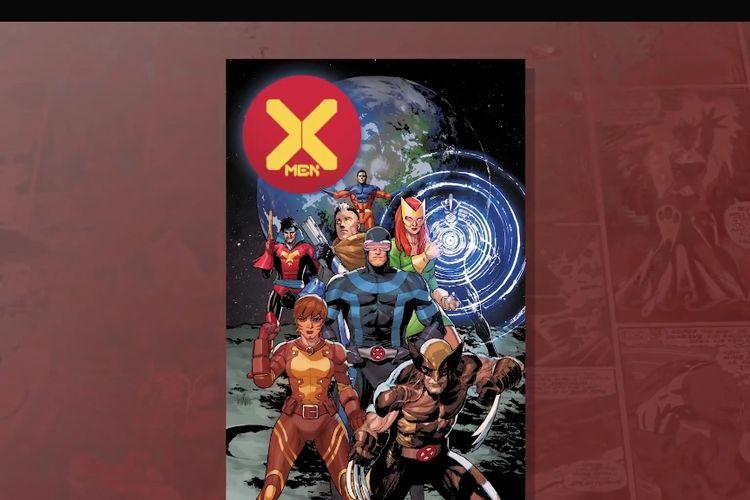 Sampul komik X-Men, Dawn of X.