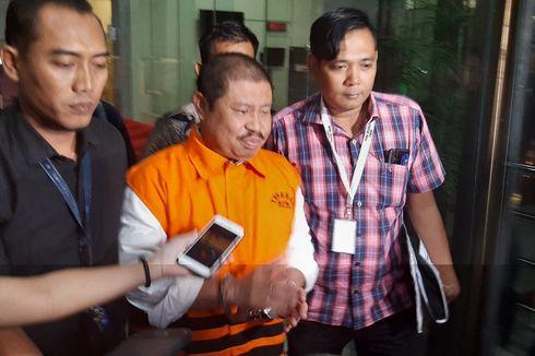 KPK Eksekusi Eks Bupati Bengkalis Amril Mukminin ke Rutan Pekanbaru