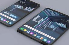 LG Patenkan Desain Ponsel Layar Gulung