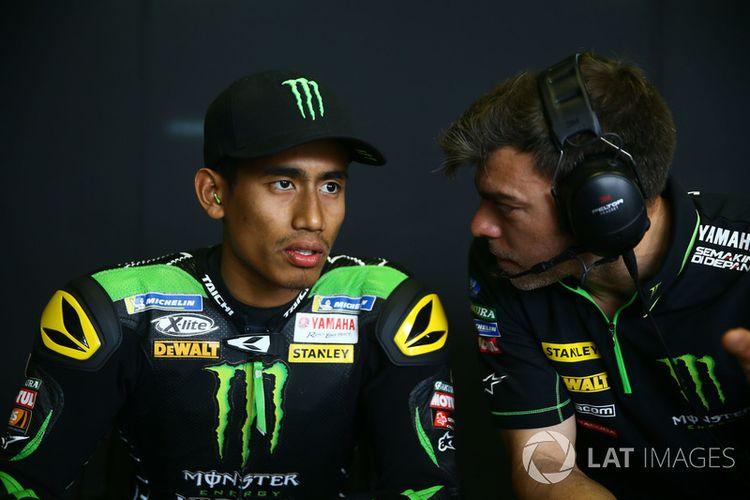 Hafizh Syahrin pebalap asal Malaysia resmi bergabung dengan Yamaha Tech 3 MotoGP.