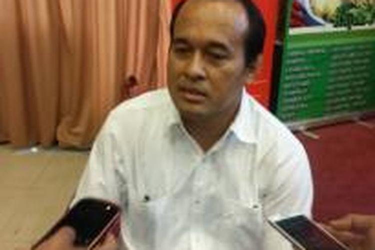 Pengamat politik  Populi Center Nico Harjanto saat ditemui di kawasan Menteng, Jakarta Pusat, Sabtu (14/3/2015).