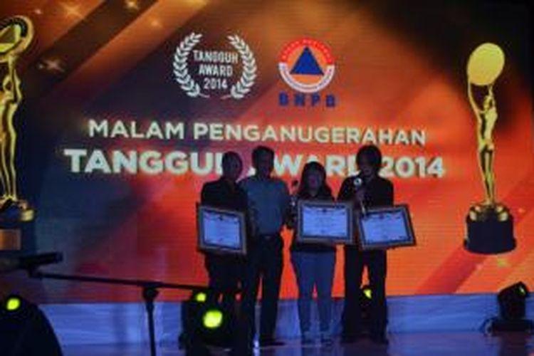 Tiga jurnalis Kompas TV meraih penghargaan film dokumenter terbaik dalam