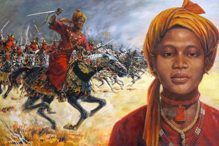 Ratu Amina dari Zazzau yang sekarang provinsi Zaria di Nigeria, Afrika Barat. [Wikipedia Via The Guardian]