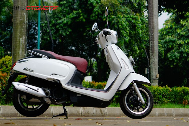 Tes Ride Kymco Like 150i
