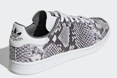 Adidas Stan Smith, Mewah dengan Pola Kulit Ular Piton Bertekstur
