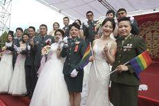 Militer Taiwan Gelar Ikatan Sipil Sesama Jenis Pertama
