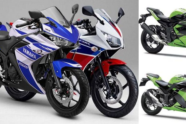 Peraingan sepeda motor sport 250cc di Indonesia.(istimewa)