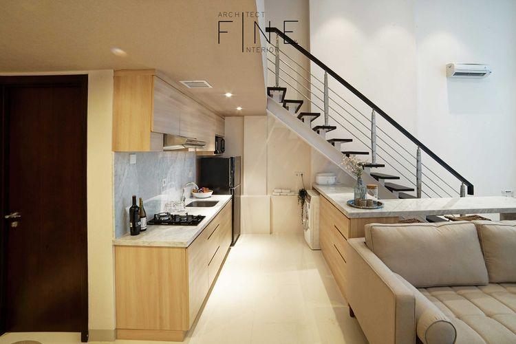 Dapur minimalis Brooklyn Soho & Apartment di Tangerang karya Fine Team Studio