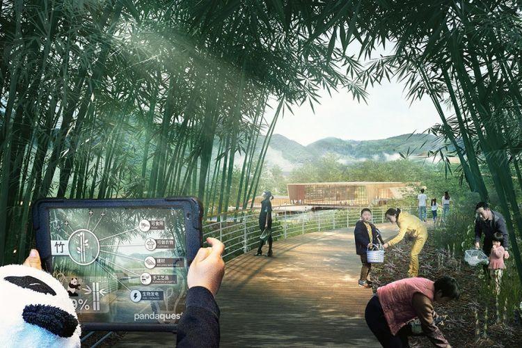 Selain giant panda, pusat penangkaran ini juga akan menjadi habitat dari beberapa hewan lainnya.