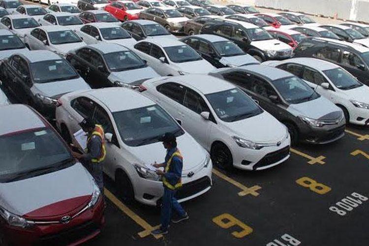 Ekspor Toyota Vios.