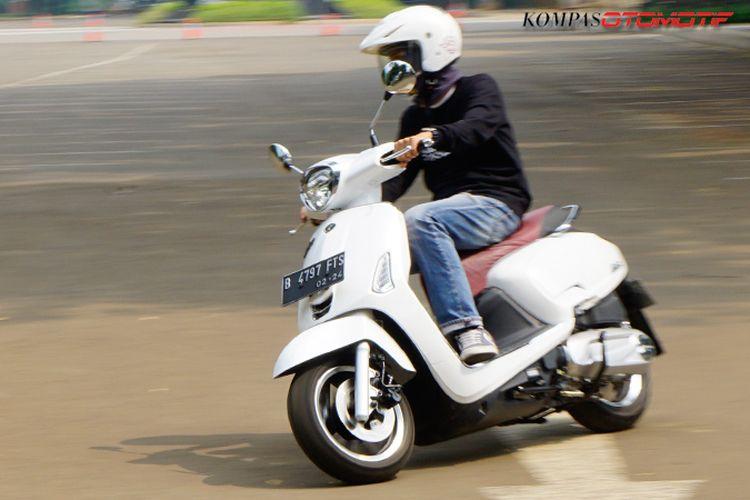 Tes Ride Kymco Like 150i