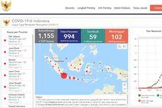 Update Rincian Kasus Corona di 29 Provinsi di Indonesia