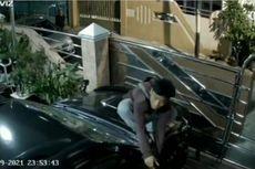 Video Viral Pencurian Spion Mobil di Tomang, Pelaku Lompat Pagar dan Panjat Kap Mobil