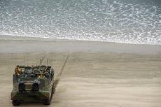 Tank Amfibi AS Tenggelam Saat Latihan, 8 Marinir Hilang di Laut