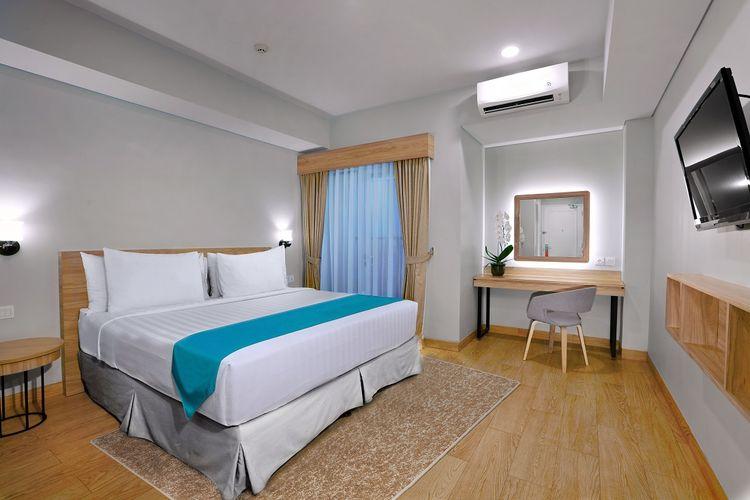 Kamar di Vega Hotel Serpong