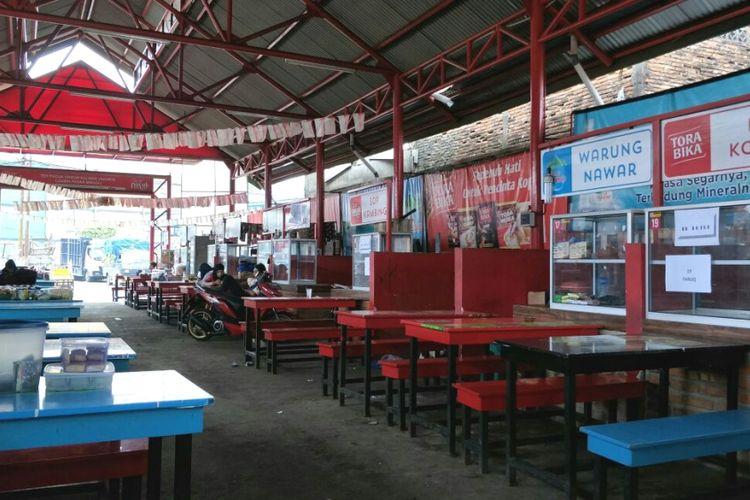 Kondisi Lokbin Pasar Minggu, Jakarta Selatan, tampak sepi, Selasa (20/3/2018).