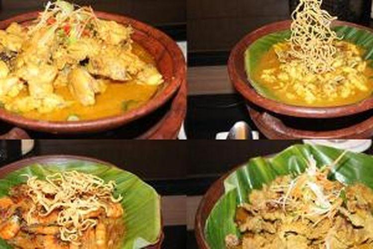 Brekecek, makanan khas Kota Cilacap, Jawa Tengah yang dihadirkan di Hotel Dafam Cilacap.