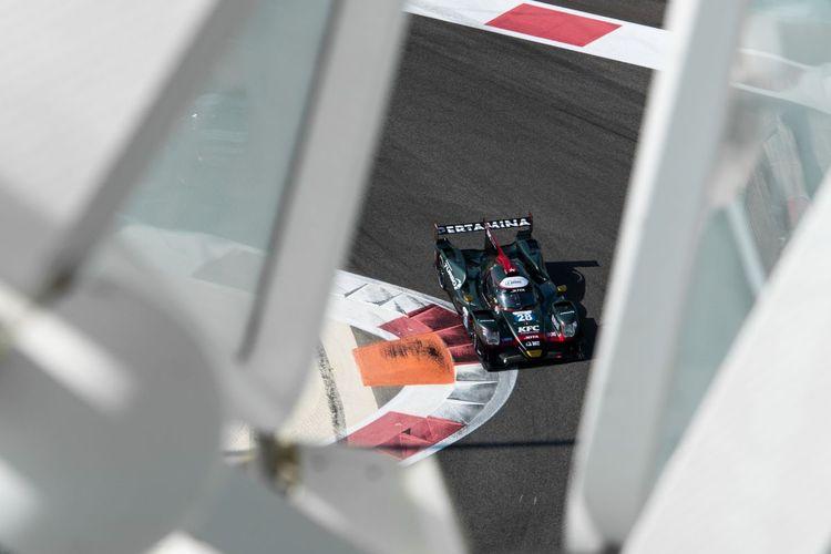 Mobil Tim JOTA nomor 28 yang digunakan Sean Gelael di Asian Le Mans Series 2021.