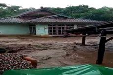 Banjir Kembali Landa Kota Bima, Sebuah Jembatan Gantung Putus