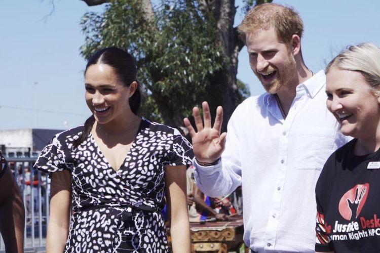 Meghan Markle dan Pangeran Harry di Afrika Selatan