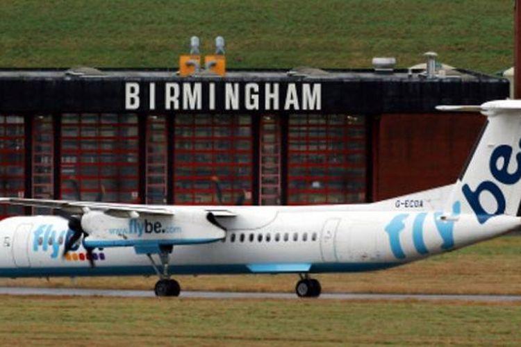 Salah satu pesawat milik maskapai penerbangan Flybe.