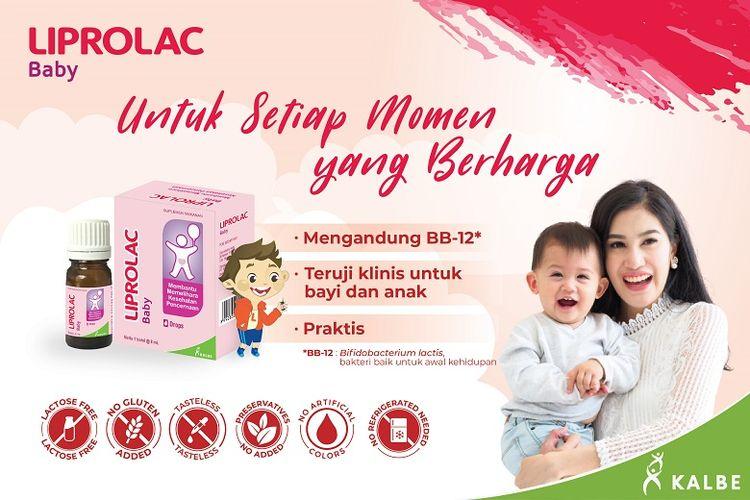 Liprolac Baby untuk jaga daya tahan tubuh anak.