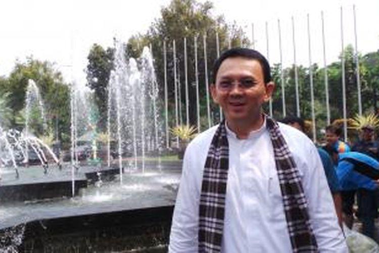 Gubernur DKI Jakarta Basuki Tjahaja Purnama di Balai Kota, Kamis (10/9/2015).