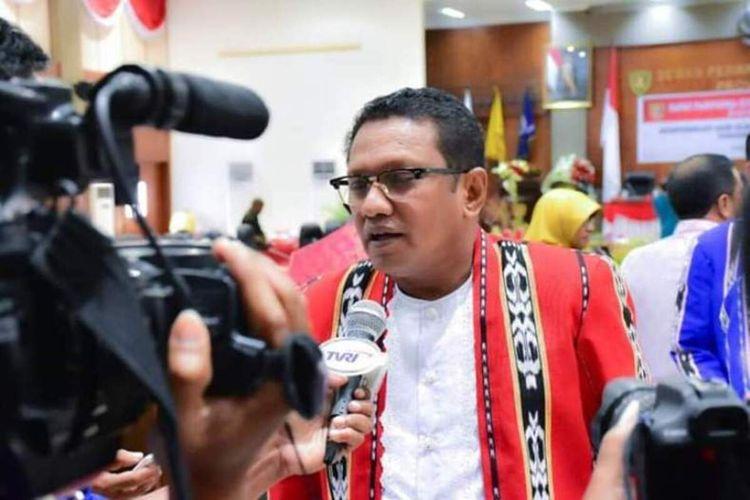 Sekretaris DPD PDI-Perjuangan Provinsi Maluku, Edwin Adrian Huwae