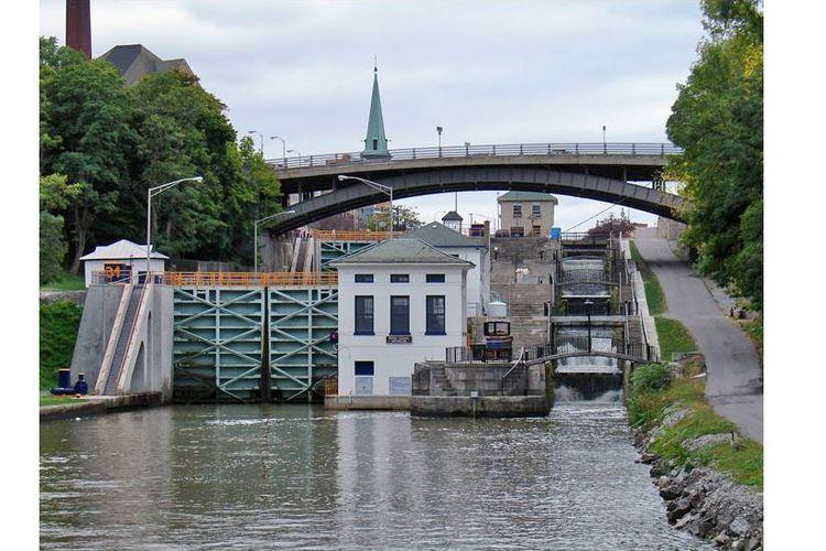 Salah satu bagian kanal eri